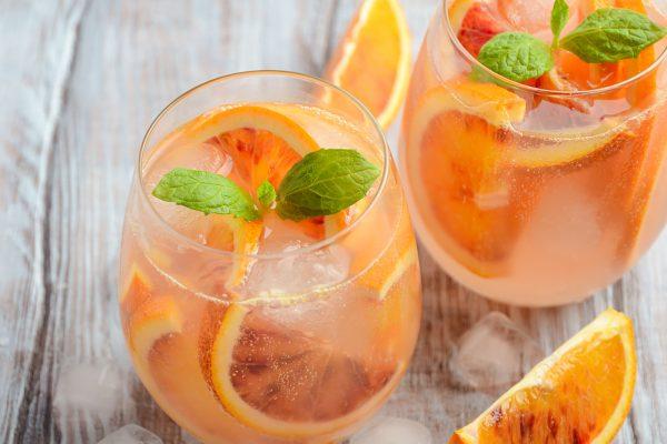 Blood Orange Meyer Lemon Drop